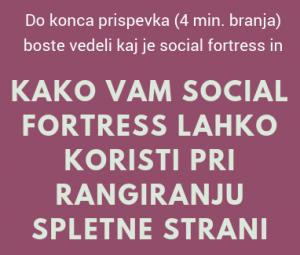 social fortress SEO
