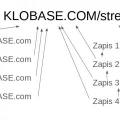 Idealna slika povezave spletne strani in podpornega bloga (SILO)
